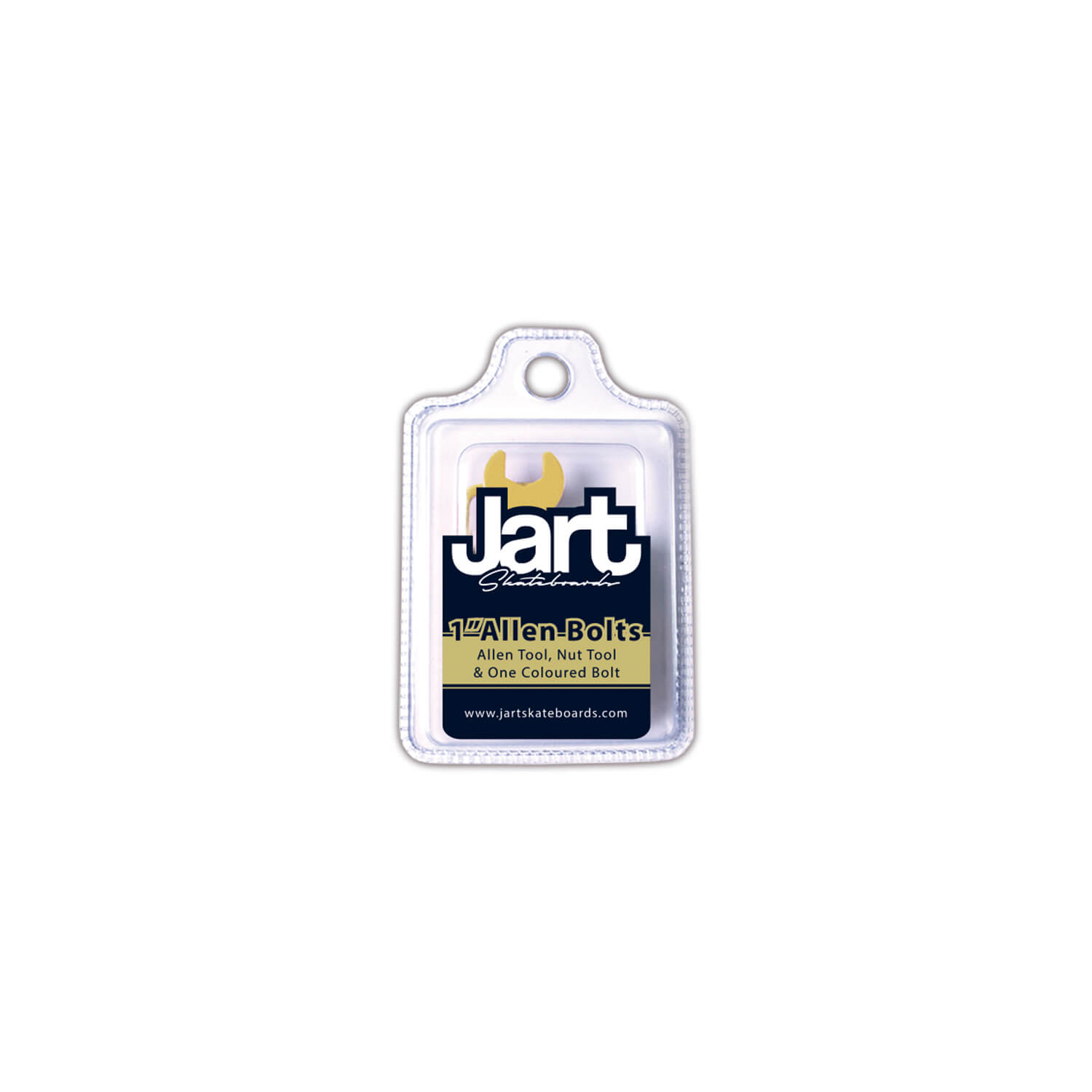 "Jart Bolts & Nuts 1"" Allen Blister Pack"