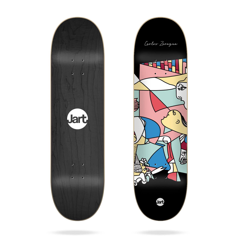 "Jart 1937 7.75"" Carlos Zarazua skateboard deck"