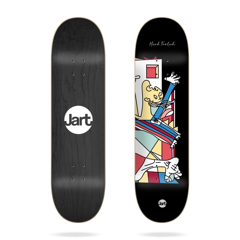 """Jart 1937 8.0"""" Mark Frolich skateboard deck"""