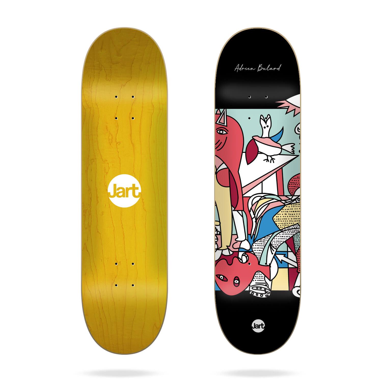 "Jart 1937 8.125"" Adrien Bulard skateboard deck"