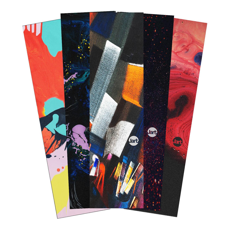 "Jart Abstract 9"" griptape 5 pack"