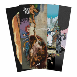 "Jart All Over 9"" griptape 5 pack"