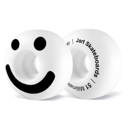 Ruote Skateboard Jart Be Happy 51mm 102a