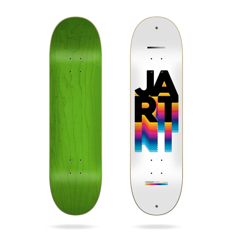 "Jart Chromatic 8.0"" skateboard deck"