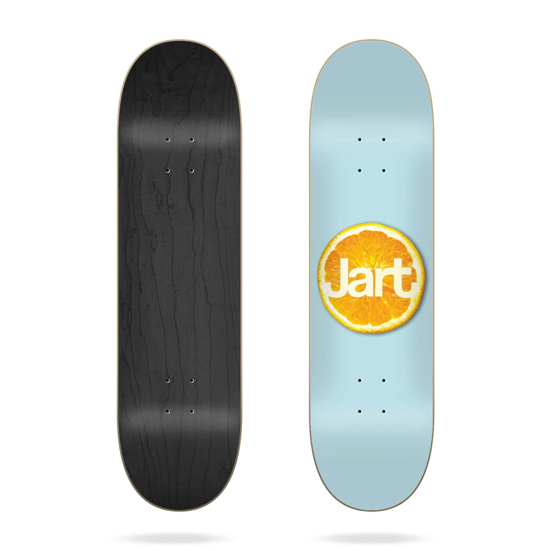 "Jart Citrus 8.0"" skateboard deck"