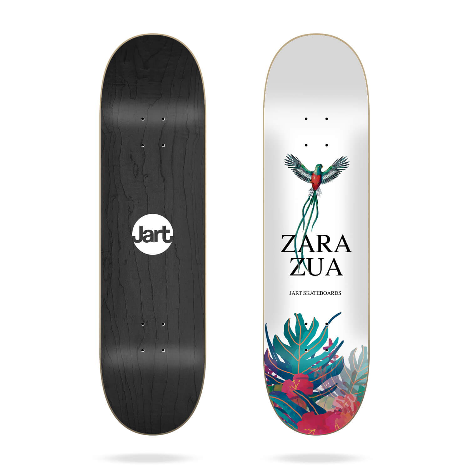 "Jart Cut Off 7.75"" Carlos Zarazua skateboard deck"