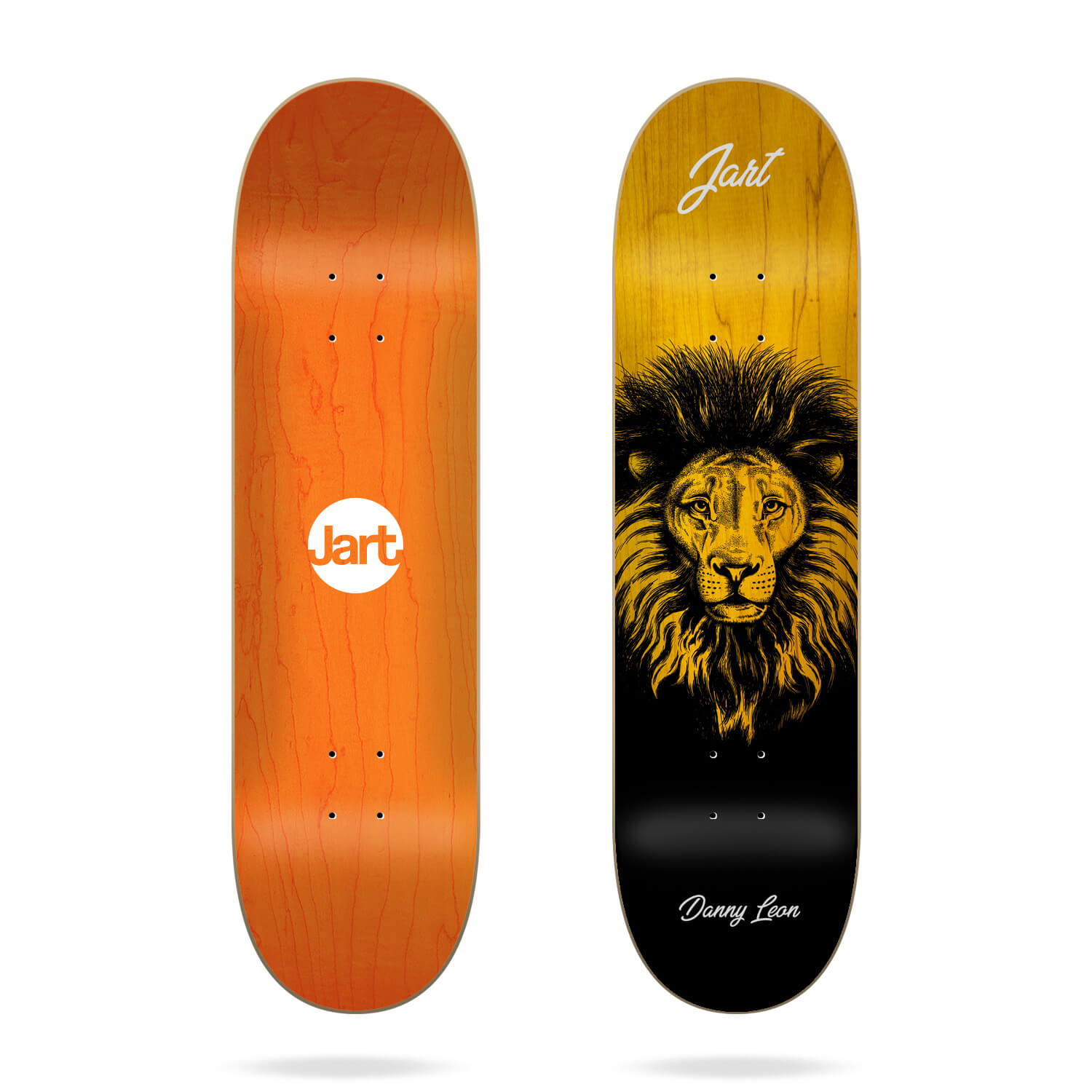 "Jart Cut Off 8.375"" Danny Leon skateboard deck"