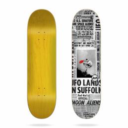 """Jart Flying Saucers 8.0"""" skateboard deck"""