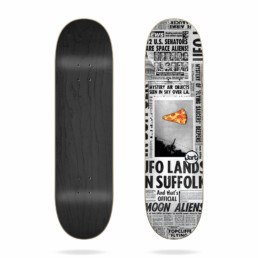 "Jart Flying Saucers 8.25"" skateboard deck"