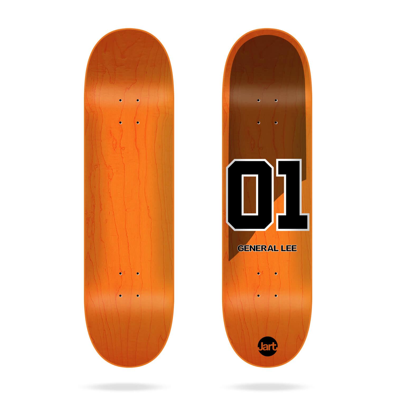 "Jart Legends 8.375"" skateboard deck"