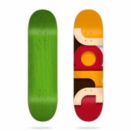 "Jart Mighty 8.0"" skateboard deck"