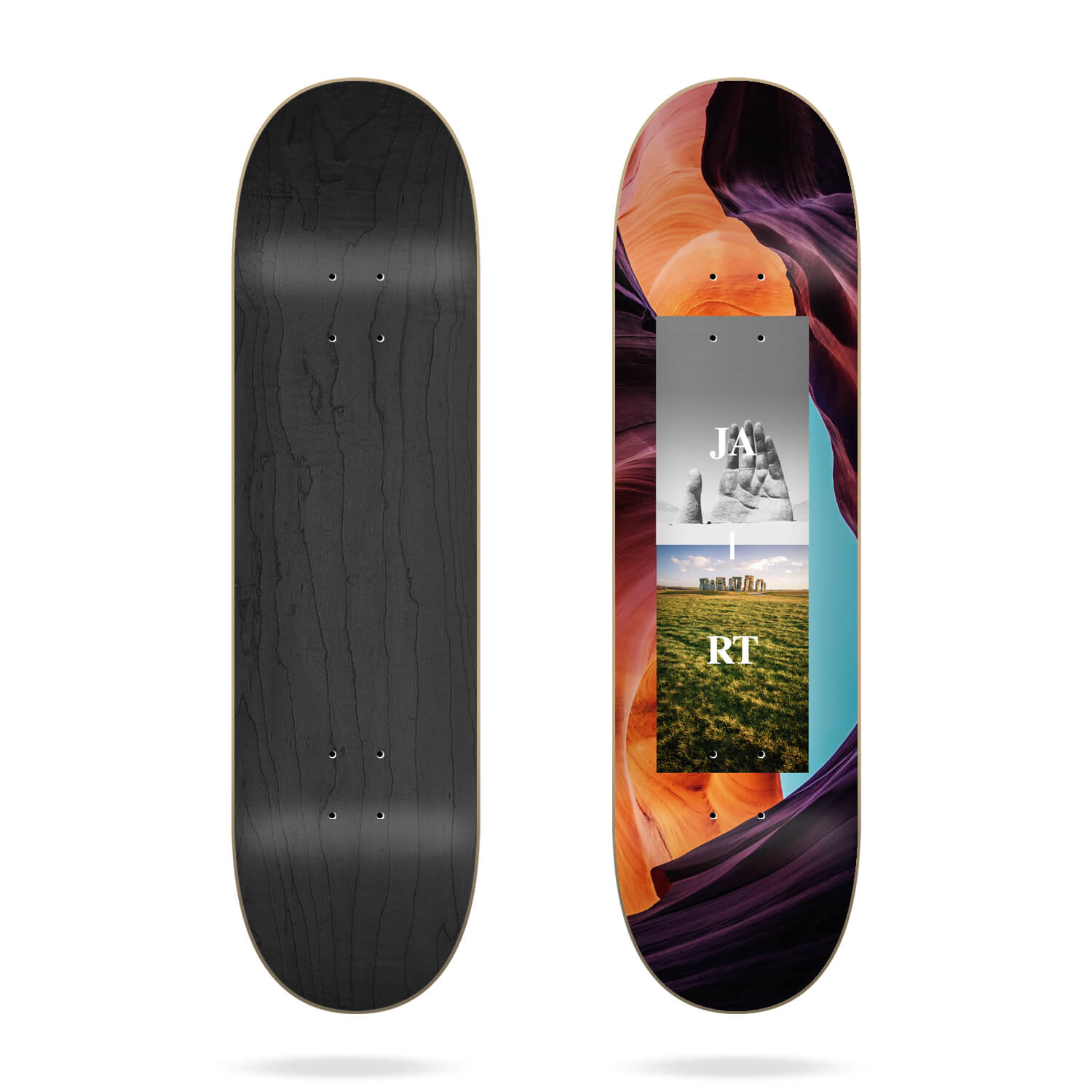 Tabla de Skate Jart Array Stone  8.0""