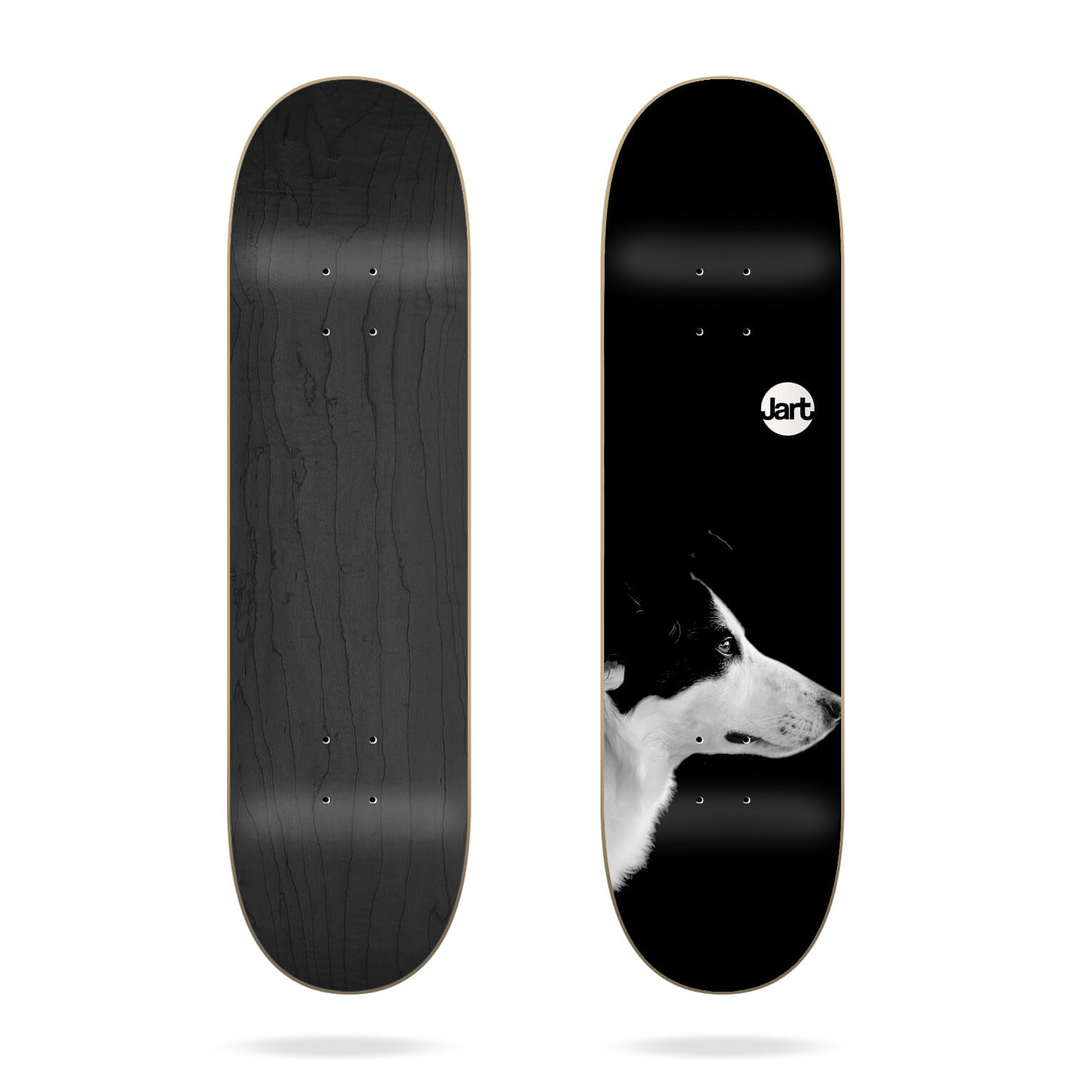 "Jart Friends Black 8.0"" Deck"