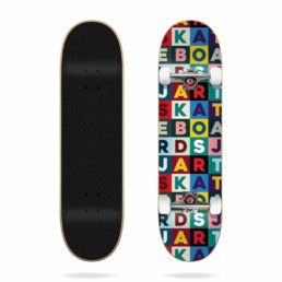 """Jart Scrabble 7.75"""" Complete skateboard"""