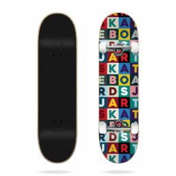 "Skateboard Completo Jart Scrabble 7.75"""