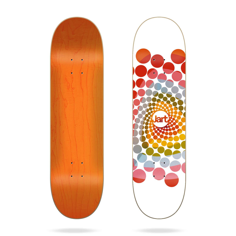 "jart spiral 8.0"" skateboard deck"