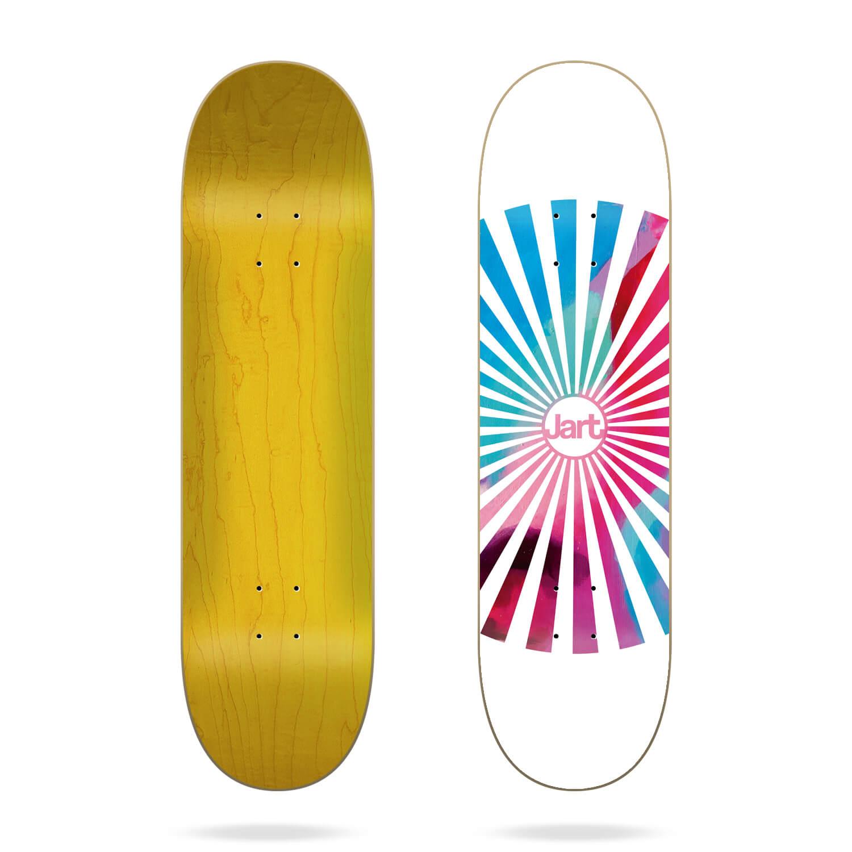 "jart spiral 8.5"" skateboard deck"