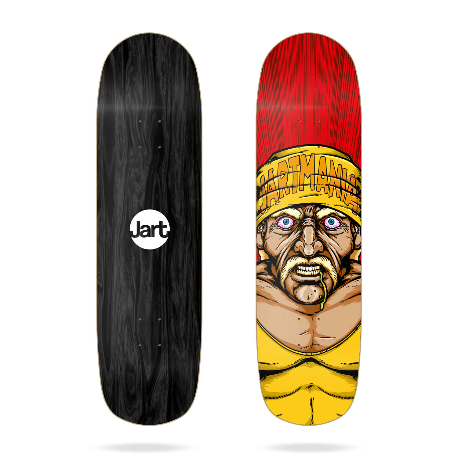"Jart Hulk Hogan 8.5"" Pool Before Death deck"