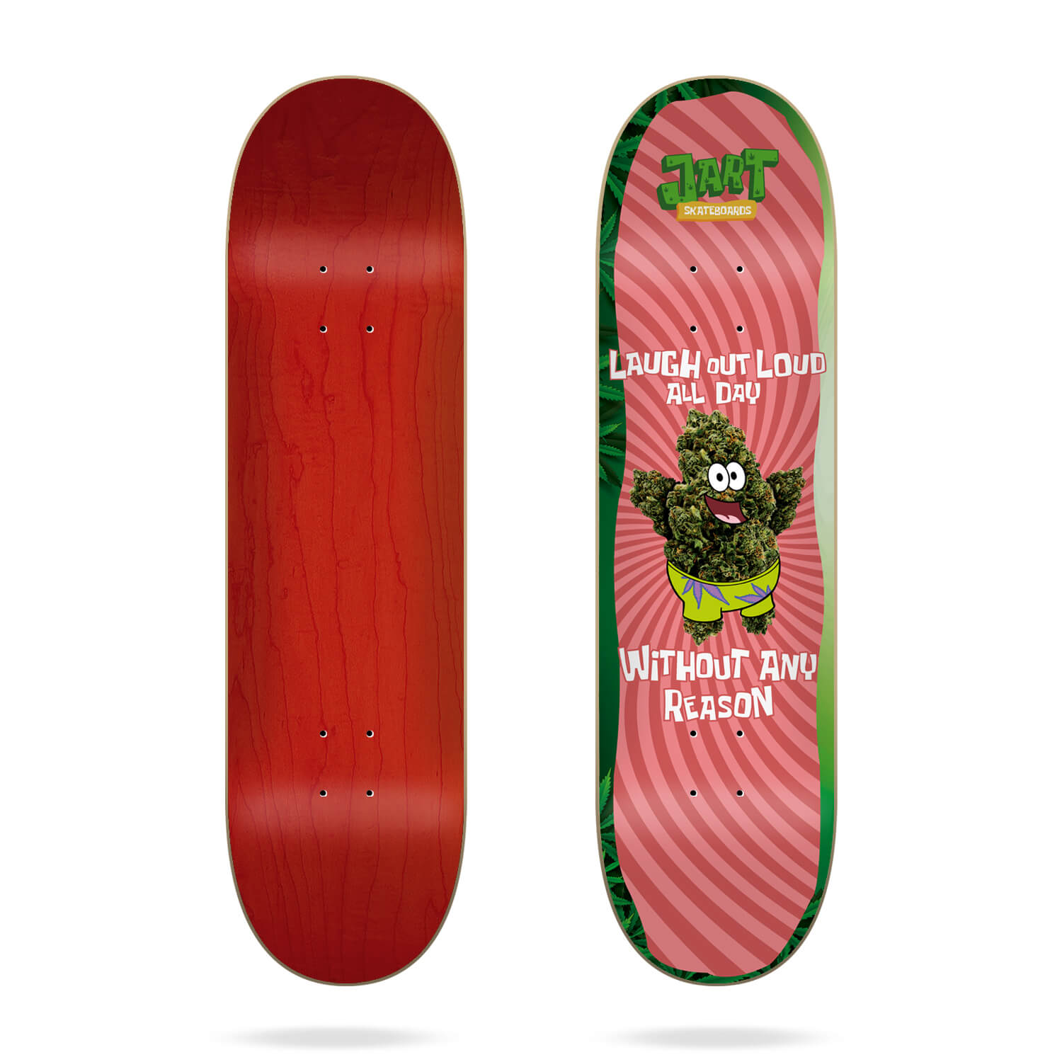 "Jart Stay High 8.25"" deck"