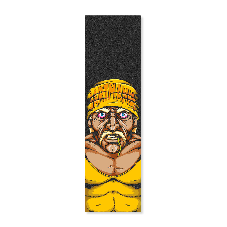 """Jart Hulk Hogan 9"""" griptape sheet"""
