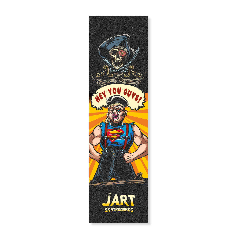 "Jart Sloth 9"" griptape sheet"